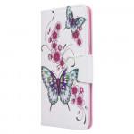 Pouzdro Galaxy A51 - Motýli 01