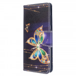 Pouzdro Galaxy A51 - Motýli 03