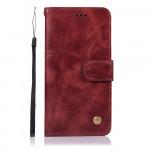 Pouzdro Galaxy A51 - vínové - Premium