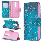 Pouzdro Nokia 4.2 - Květy 02