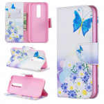 Pouzdro Nokia 4.2 - Motýli 04