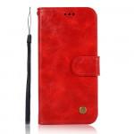 Pouzdro Galaxy A51 - červené - Premium