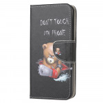 Pouzdro Huawei P40 Lite -  Don't touch my phone 01