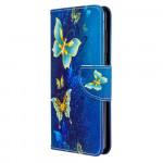Pouzdro Galaxy A41 - Motýli 04