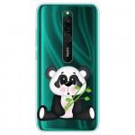 Obal Xiaomi Redmi 8 - průhledný - Panda