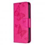 Pouzdro Nokia 2.3 - Motýli - tmavě růžové