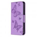 Pouzdro Nokia 2.3 - Motýli - fialové