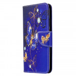 Pouzdro Huawei P40 Lite - Motýli 04
