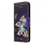 Pouzdro Huawei P40 Lite E - Motýli 04