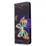 Pouzdro Xiaomi Redmi Note 9 Pro / Note 9S - Motýli 04