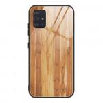 Obal Galaxy A51 - s motivem dřeva 01