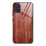 Obal Galaxy A51 - s motivem dřeva 02