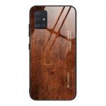 Obal Galaxy A51 - s motivem dřeva 03