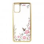Obal Galaxy A51 - Průhledné - Motýli 04
