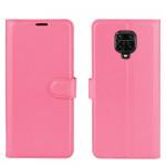 Pouzdro Xiaomi Redmi Note 9 Pro / Note 9S - tmavě růžové 02