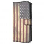 Pouzdro Galaxy A41 - Vlajka USA