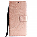 Pouzdro Huawei Y6P - světle růžová mandala