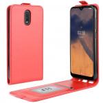Flipové pouzdro Nokia 2.3 - červené