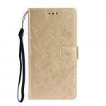 Pouzdro Xiaomi Redmi Note 8T - Motýli - zlaté