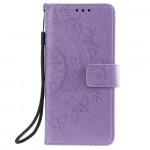 Pouzdro Huawei Y5P - fialová mandala