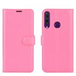 Pouzdro Huawei Y6P - tmavě růžové