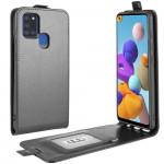 Flipové pouzdro Galaxy A21s - černé