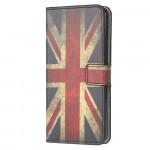 Pouzdro Galaxy A21s - Britská vlajka