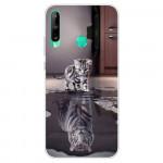 Obal Huawei P40 Lite E - Kotě a tygr