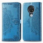 Pouzdro Nokia 6.2 / 7.2 - Mandala - modré
