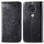 Pouzdro Nokia 6.2 / 7.2 - Mandala - černé