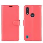 Pouzdro Motorola Moto E6s - červené