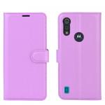 Pouzdro Motorola Moto E6s - fialové
