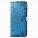 Pouzdro Motorola Moto E6s - modré - Mandala