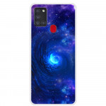 Pouzdro Galaxy A21s - Vesmír 03
