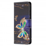 Pouzdro Nokia 5.3 - Motýli 03