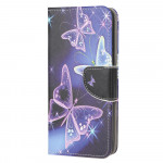 Pouzdro Galaxy A21s - Motýli 03