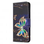 Pouzdro Honor 9X Lite - Motýli 01