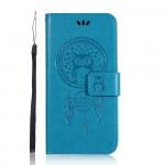 Pouzdro Motorola Moto E6 Plus - modré - Lapač snů
