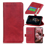 Pouzdro Xiaomi Mi 10 Lite - Vintage - červené