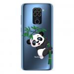 Obal Xiaomi Redmi Note 9 - průhledný - Panda
