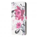 Pouzdro Huawei Y5P - Květy 01