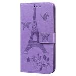 Pouzdro Galaxy Note 9 - fialové - Eiffelovka