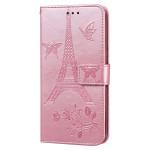 Pouzdro Galaxy Note 9 - růžové - Eiffelovka