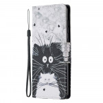 Pouzdro Galaxy A21s - Kočky 03