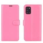 Pouzdro Galaxy A31 - tmavě růžové