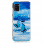 Pouzdro Galaxy A31 - Motýli