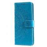 Pouzdro Galaxy A31 - modré - Mandala