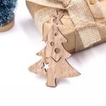 Vánoční dřevěná ozdoba - stromeček 02