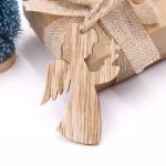 Vánoční dřevěná ozdoba - anděl 02