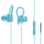 Sluchátka kabelová - modrá
